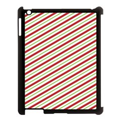 Stripes Apple Ipad 3/4 Case (black)