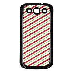 Stripes Samsung Galaxy S3 Back Case (black)