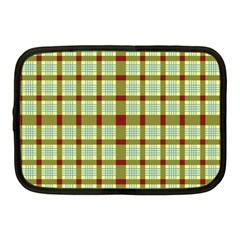 Geometric Tartan Pattern Square Netbook Case (medium)