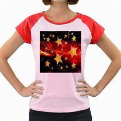 Holiday Space Women s Cap Sleeve T Shirt