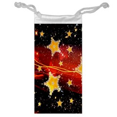 Holiday Space Jewelry Bag by Nexatart