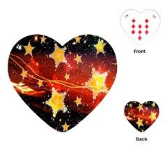 Holiday Space Playing Cards (heart)