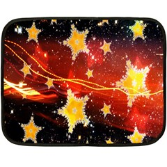 Holiday Space Double Sided Fleece Blanket (mini)