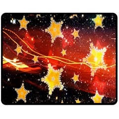 Holiday Space Fleece Blanket (medium)
