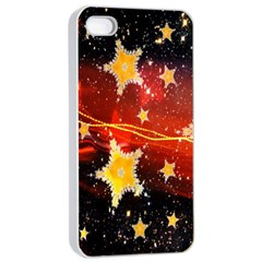 Holiday Space Apple Iphone 4/4s Seamless Case (white)