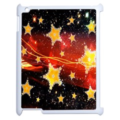 Holiday Space Apple Ipad 2 Case (white) by Nexatart