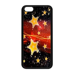 Holiday Space Apple Iphone 5c Seamless Case (black) by Nexatart