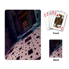 Industry Fractals Geometry Graphic Playing Card