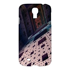 Industry Fractals Geometry Graphic Samsung Galaxy S4 I9500/i9505 Hardshell Case