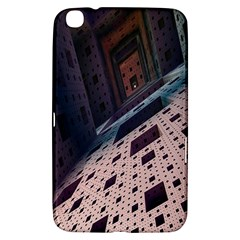 Industry Fractals Geometry Graphic Samsung Galaxy Tab 3 (8 ) T3100 Hardshell Case