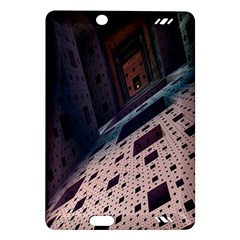Industry Fractals Geometry Graphic Amazon Kindle Fire Hd (2013) Hardshell Case