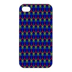 Honeycomb Fractal Art Apple Iphone 4/4s Hardshell Case