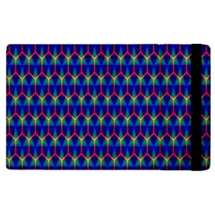 Honeycomb Fractal Art Apple Ipad 2 Flip Case by Nexatart