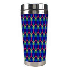 Honeycomb Fractal Art Stainless Steel Travel Tumblers
