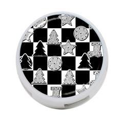 Xmas Checker 4 Port Usb Hub (two Sides)
