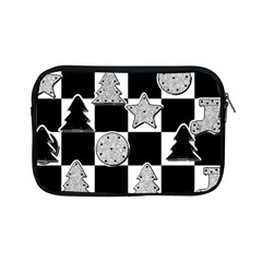Xmas Checker Apple Ipad Mini Zipper Cases