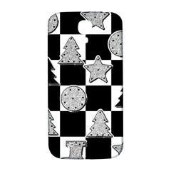 Xmas Checker Samsung Galaxy S4 I9500/i9505  Hardshell Back Case