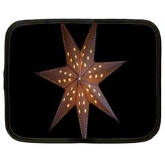 Star Light Decoration Atmosphere Netbook Case (large)