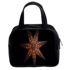 Star Light Decoration Atmosphere Classic Handbags (2 Sides)
