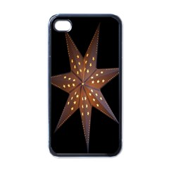 Star Light Decoration Atmosphere Apple Iphone 4 Case (black) by Nexatart