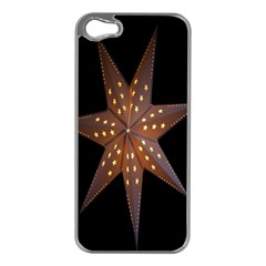 Star Light Decoration Atmosphere Apple Iphone 5 Case (silver) by Nexatart