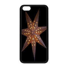 Star Light Decoration Atmosphere Apple Iphone 5c Seamless Case (black)