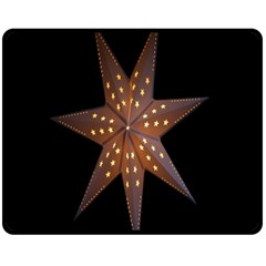 Star Light Decoration Atmosphere Double Sided Fleece Blanket (medium)