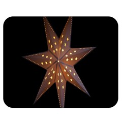 Star Light Decoration Atmosphere Double Sided Flano Blanket (Medium)  by Nexatart