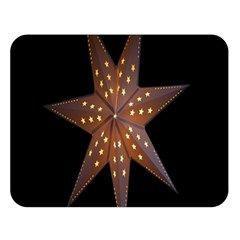 Star Light Decoration Atmosphere Double Sided Flano Blanket (large)