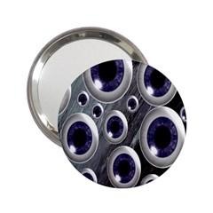 Eyeballs Pattern 2 25  Handbag Mirrors