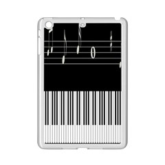 Piano Keyboard With Notes Vector Ipad Mini 2 Enamel Coated Cases