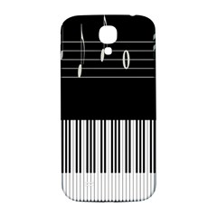Piano Keyboard With Notes Vector Samsung Galaxy S4 I9500/i9505  Hardshell Back Case
