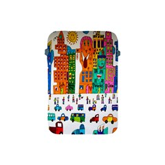 Painted Autos City Skyscrapers Apple Ipad Mini Protective Soft Cases
