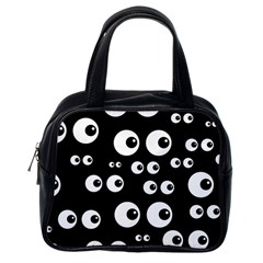 Seamless Eyes Tile Pattern Classic Handbags (one Side)