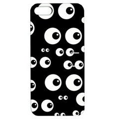 Seamless Eyes Tile Pattern Apple Iphone 5 Hardshell Case With Stand