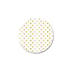 Polka Dots Retro Golf Ball Marker (10 Pack)