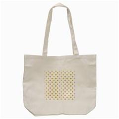 Polka Dots Retro Tote Bag (cream) by Nexatart