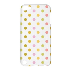 Polka Dots Retro Apple Ipod Touch 5 Hardshell Case