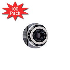 Vintage Camera 1  Mini Buttons (100 Pack)