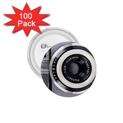 Vintage Camera 1 75  Buttons (100 Pack)