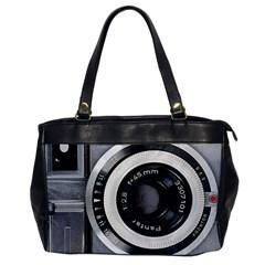 Vintage Camera Office Handbags by Nexatart