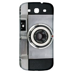 Vintage Camera Samsung Galaxy S3 S Iii Classic Hardshell Back Case