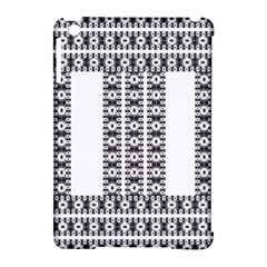 Pattern Background Texture Black Apple Ipad Mini Hardshell Case (compatible With Smart Cover) by Nexatart