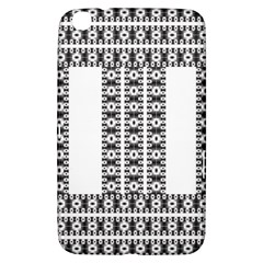 Pattern Background Texture Black Samsung Galaxy Tab 3 (8 ) T3100 Hardshell Case
