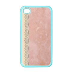 Guestbook Background Victorian Apple Iphone 4 Case (color)