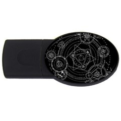 Formal Magic Circle Usb Flash Drive Oval (4 Gb)