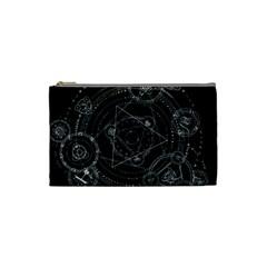 Formal Magic Circle Cosmetic Bag (small)  by Nexatart