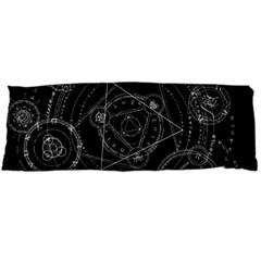 Formal Magic Circle Body Pillow Case Dakimakura (two Sides) by Nexatart