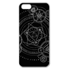 Formal Magic Circle Apple Seamless Iphone 5 Case (clear)