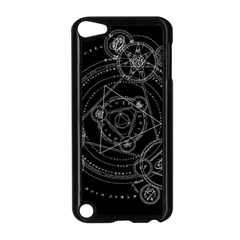 Formal Magic Circle Apple Ipod Touch 5 Case (black) by Nexatart
